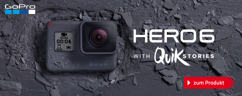 GoPro Hero6 - with QUICK Stories