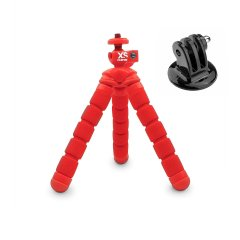 XSORIES MINI BENDY - red + GoPro Adapter