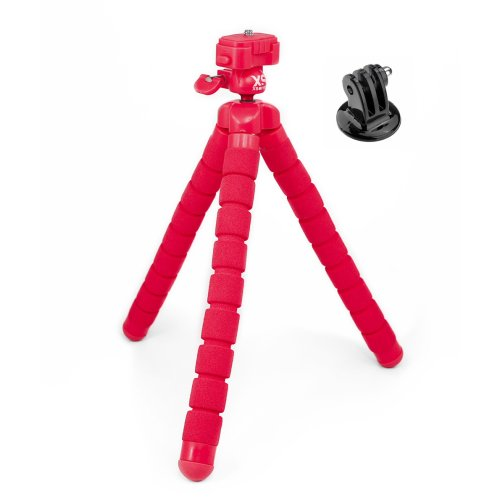 XSORIES BIG BENDY rot + GoPro Adapter