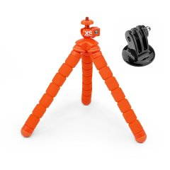 XSORIES BENDY Medium orange + GoPro Adapter