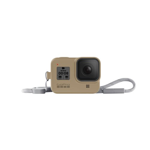 GoPro Sleeve + Lanyard (HERO8 Black) Sand