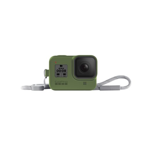 GoPro Sleeve + Lanyard (HERO8 Black) Turtle Green
