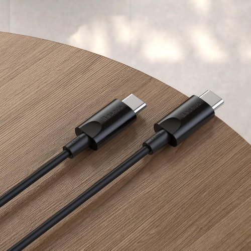Fast Charging Cable TypeC 100W 1.5m Blk